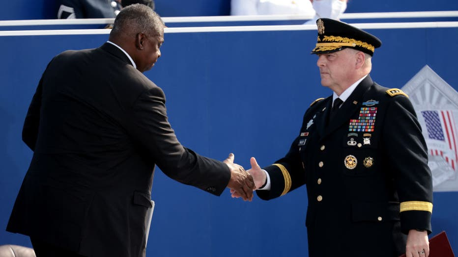 Ceremonies At The Pentagon Mark 20th Anniversary Of The September 11th Attacks