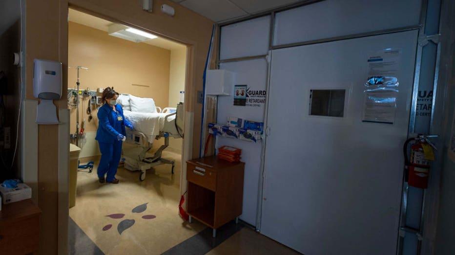 Lone nurse COVID-19
