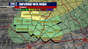 Low to slight risk for severe weather in Austin area late Sunday night