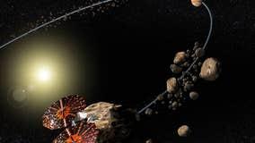 NASA's Lucy spacecraft to visit swarm of asteroids near Jupiter