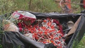 Garbage bag of syringes dumped in Southeast Austin neighborhood