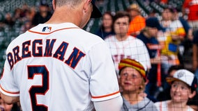 Houston Astros players back local boy with complicated brain tumor