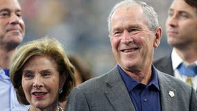 George W. Bush shares photo of new granddaughter