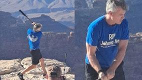 National Park Service: Man seen hitting baseball into Grand Canyon