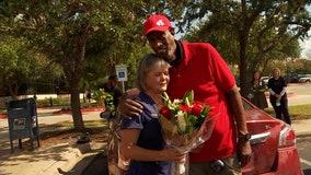 Austin man reunites with nurse who saved his life