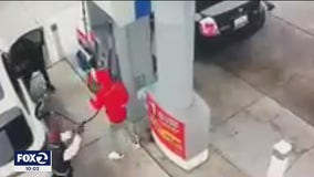 Retired Oakland police captain wounded, 1 other killed during gas station gun battle