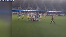 8 arrested following fights, shooting after San Jose Earthquakes soccer match
