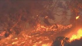 Alisal Fire: Massive wildfire rages west of Santa Barbara
