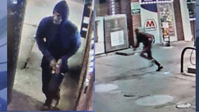 2 suspects arrested in gas station ambush double murder where woman died holding her child