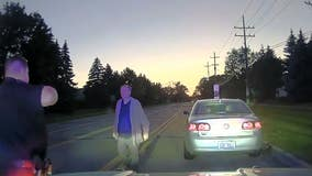 """""""Everything's going wrong"""": Sterling Heights Police stop speeding man, hook up new TV"""