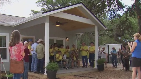 Hometown Missions helps Dripping Springs family with new home