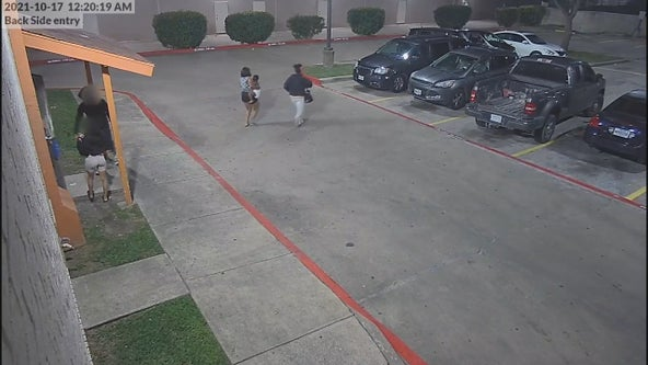 Video shows women kidnapping toddler from Garland motel