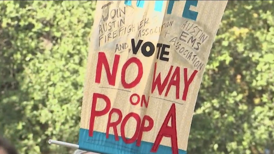 """Local activist group holds """"No Way on A"""" rally against Prop A"""