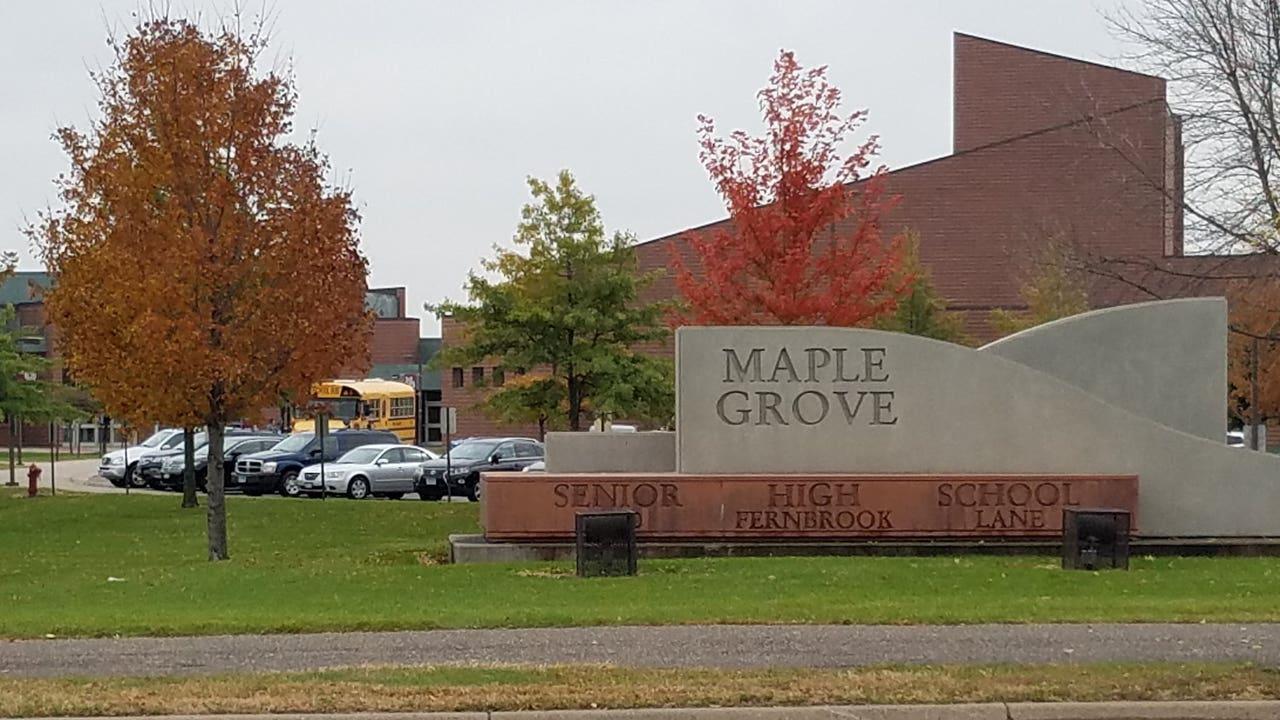 2 Teens In Crosswalk Hit By Car Near Maple Grove High School