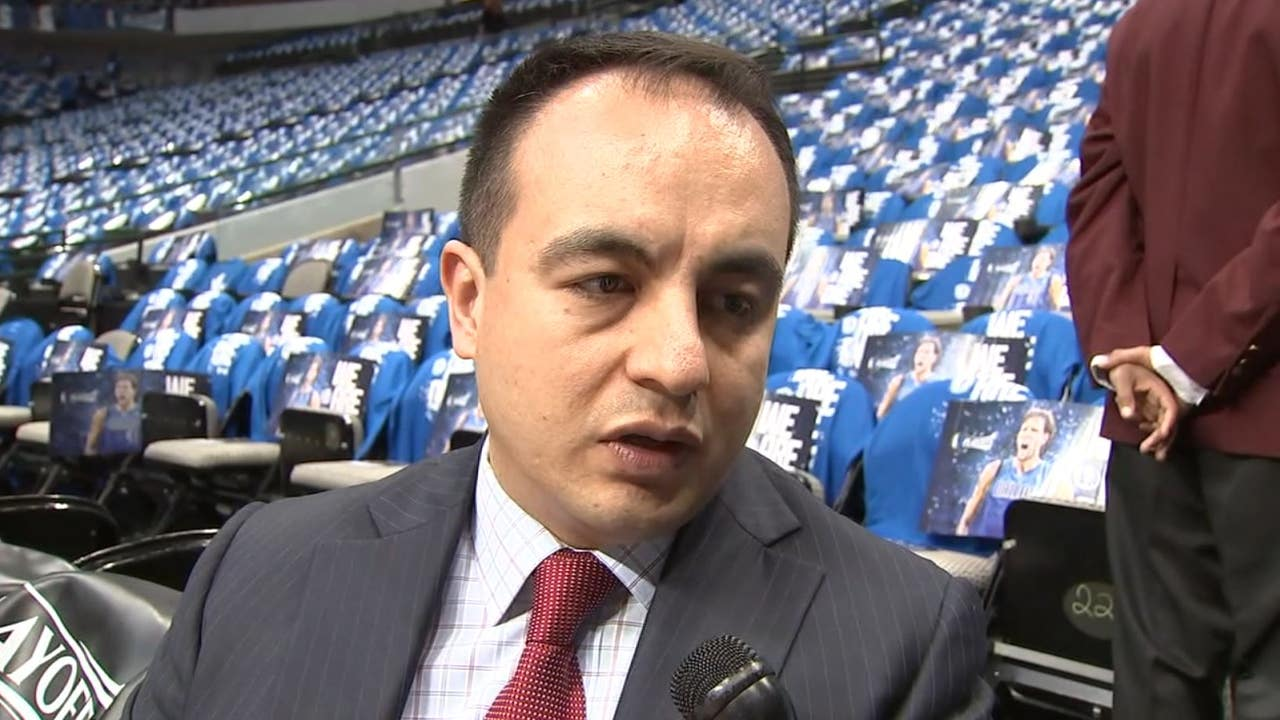 gersson rosas hired as timberwolves president of