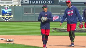 Twins get in practice ahead of Opening Day
