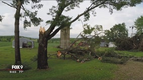 Tornado touches down in Pierce County, Wisconsin