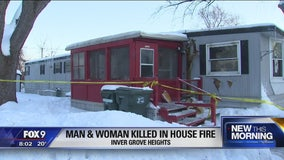 Cause of 3 metro house fires under investigation, 1 fatal