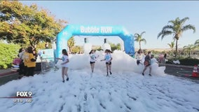 Date change for Bubble Run in Blaine upsets racers