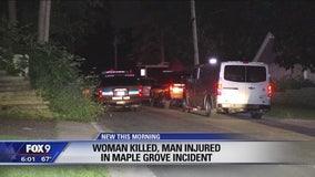 Police are investigating a death in Maple Grove