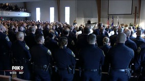 Funeral for fallen Wayzata officer wraps up on Thursday