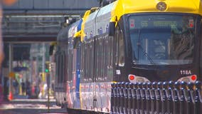 Pedestrian struck by light rail in St. Paul sent to hospital