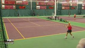 Edina, Minnesota, tennis team celebrates success