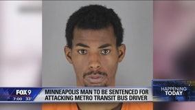 Minneapolis man to be sentenced for attacking Metro Transit bus driver