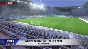 Grounds crew de-icing Allianz Field ahead of home opener