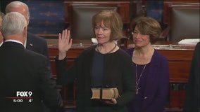 Tina Smith joins U.S. Senate, replacing Franken