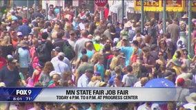 Before the State Fair comes the job fair