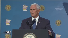 VP Mike Pence makes stop in Minnesota Thursday