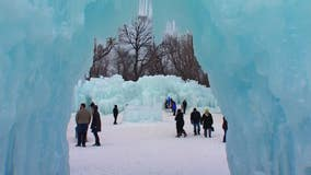 Ice Castles to open Jan. 17 in New Brighton, Minnesota