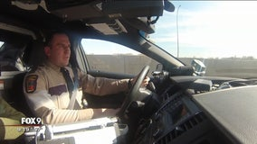 State Patrol makes special delivery for child with lung disease