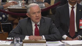Sessions heatedly denies improper Russia contacts