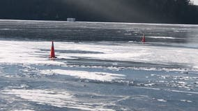 Hennepin County Sheriff warns of thin ice on Lake Minnetonka after ATV goes into water