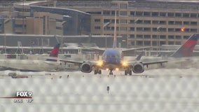 MSP Airport crews work overtime to keep runways clear during snowstorms
