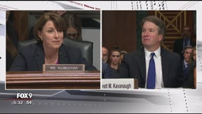 Klobuchar says she approached senate judiciary hearings with 'civility' this week