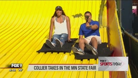 Lynx's Collier takes in the Minnesota State Fair
