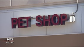 Cats, dogs ales banned at Roseville pet stores