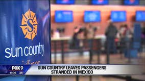 Minnesotans stranded in Mexico after cancelled Sun Country flights