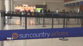 Sun Country laying off 350 employees at MSP Airport