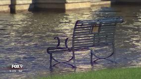 Heavy rains raise water line on St. Croix river