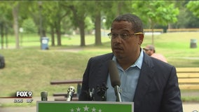 Rep. Keith Ellison returns to campaign trail, addressing domestic abuse allegations