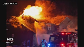 Community rallies around Lakeville family after house fire