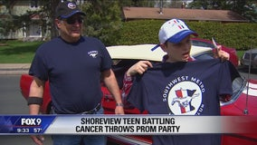 Shoreview teen with cancer hosts prom of his very own