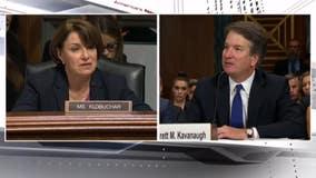 Tense exchange between Klobuchar and Kavanaugh over drinking questions