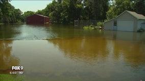 Lawmakers tour flood damage