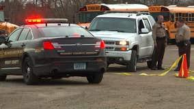 2 empty schools buses hit by gunfire in Delano, MN
