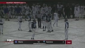 Power outage interrupts Eastview-Blaine state playoff game